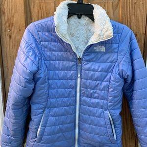 North Face Girls Mossbud Reversible Jacket